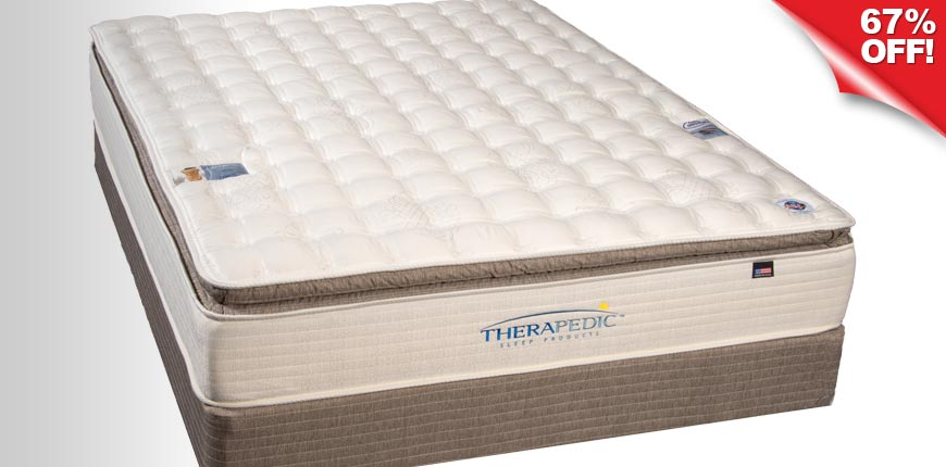 Therapedic Back Plush Sense Pillow Top