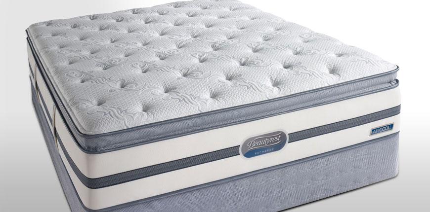 Beautyrest Recharge Lowman Plush Pillow Top Mattress Set