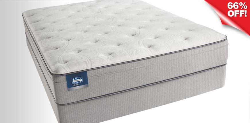 BeautySleep Euro Pillow Top