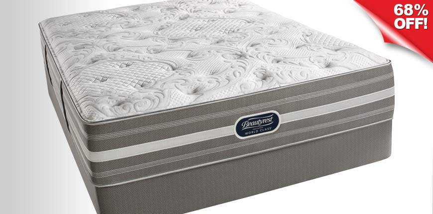 Beautyrest Recharge World Class Luxury Firm Mattress