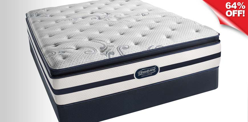 Beautyrest Recharge Plush Pillow Top Mattress