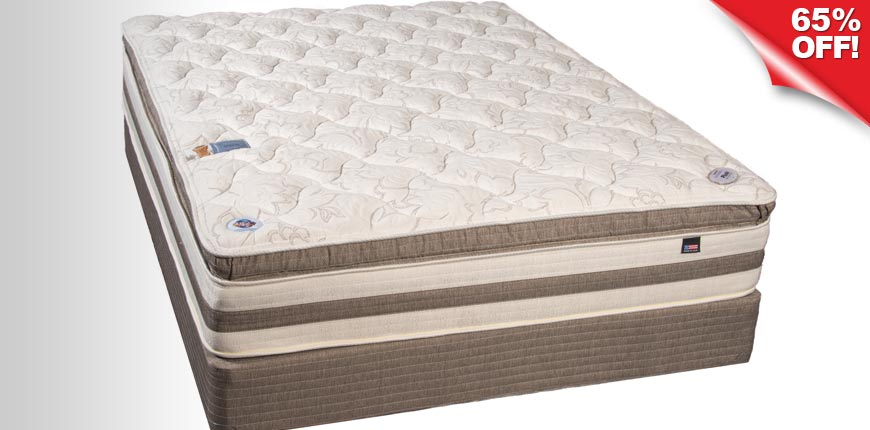 Therapedic Back Sense Plush Pillow Top Mattress